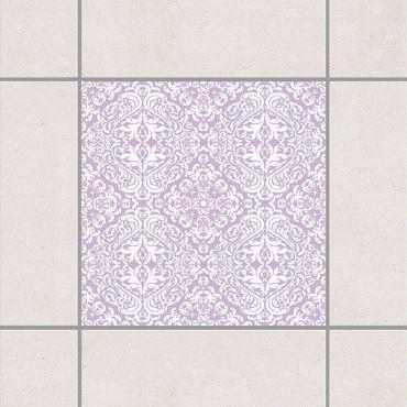 Adesivo per piastrelle - Time Curls By Lavender 15cm x 15cm