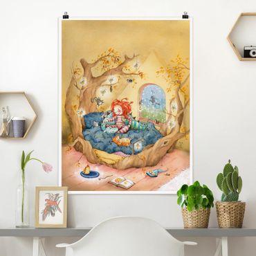 Poster - Frida Coccole Con I Suoi Amici - Verticale 4:3