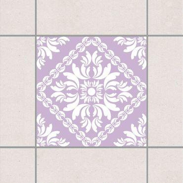 Adesivo per piastrelle - Vera Rosa Lavender 25cm x 20cm