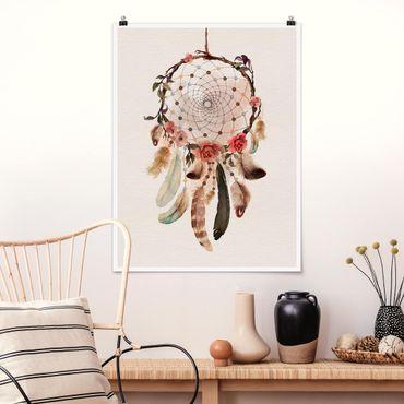 Poster - Dreamcatcher con perline - Verticale 4:3