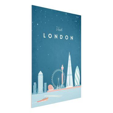 Stampa su Forex - Poster Viaggio - Londra - Verticale 4:3