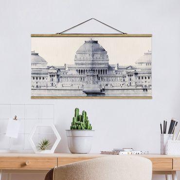 Foto su tessuto da parete con bastone - Prix ??de Rome Sketch I - Orizzontale 1:2