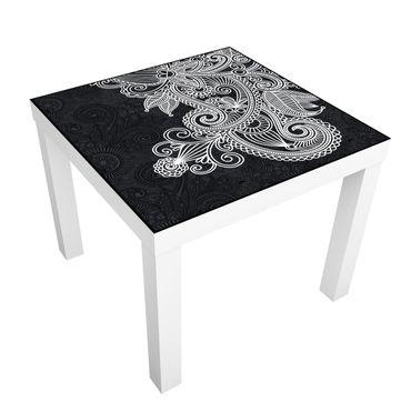 Carta adesiva per mobili IKEA - Lack Tavolino Gothic ornament