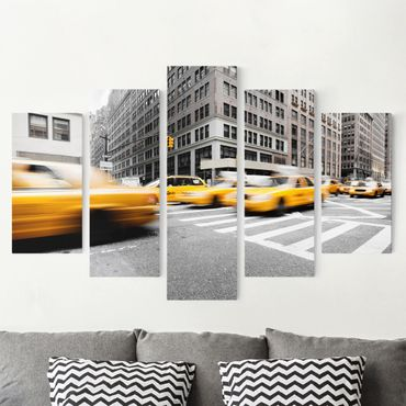 Stampa su tela 5 parti - Rapid New York