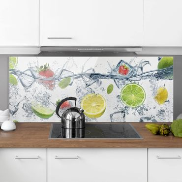 Paraschizzi in vetro - Fruit Cocktail - Panoramico