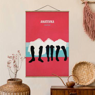 Foto su tessuto da parete con bastone - Film Poster Anatevka II - Verticale 3:2