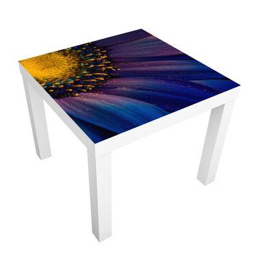 Tavolino design Blue Gerbera Blossom
