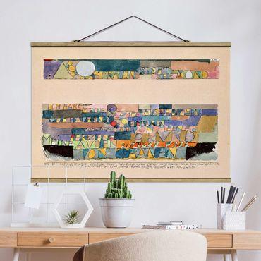 Foto su tessuto da parete con bastone - Paul Klee - The Moon - Orizzontale 2:3