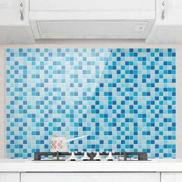 Paraschizzi in vetro - Mosaic Tiles Meeresrauschen