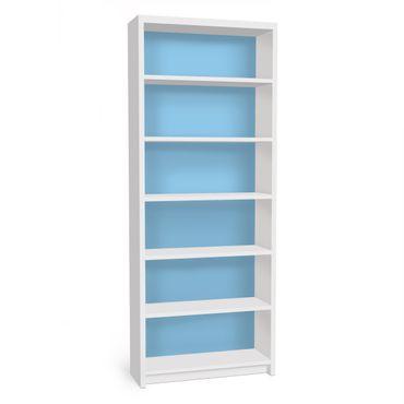 Carta adesiva per mobili IKEA - Billy Libreria - Colour Light Blue