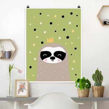 Poster - Il più pigro Sloth - Verticale 4:3