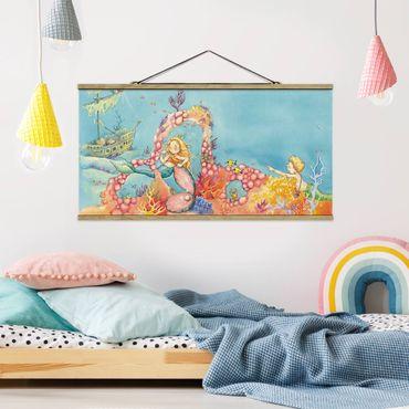 Foto su tessuto da parete con bastone - Blubber, The Pirate - Orizzontale 1:2