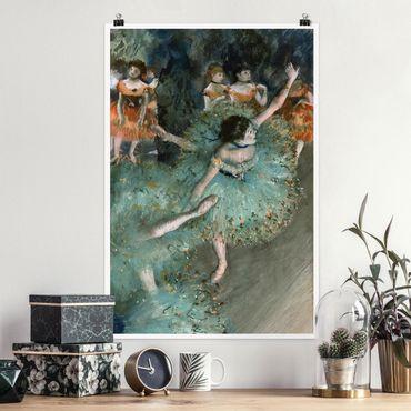 Poster - Edgar Degas - Ballerine verdi - Verticale 3:2