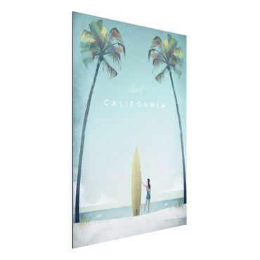 Stampa su alluminio - Poster di viaggio - California - Verticale 4:3