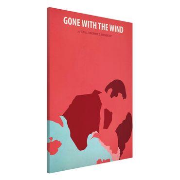 Lavagna magnetica - Film Poster Via col vento - Formato verticale 2:3