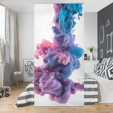 Tenda a pannello Abstract liquid color 250x120cm