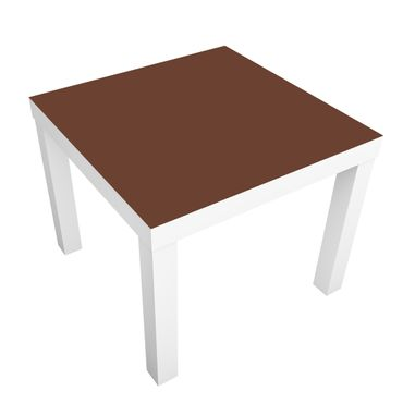 Carta adesiva per mobili IKEA - Lack Tavolino Colour Chocolate