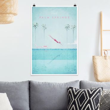 Poster - Poster Travel - Palm Springs - Verticale 3:2