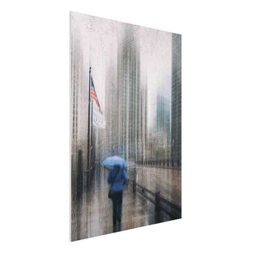 Quadro in forex - Rainy Chicago - Verticale 3:4