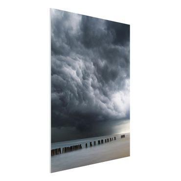 Quadro in forex - Nubi di tempesta sul Mar Baltico - Verticale 3:4