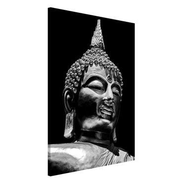 Lavagna magnetica - Buddha Statue Viso - Formato verticale 2:3