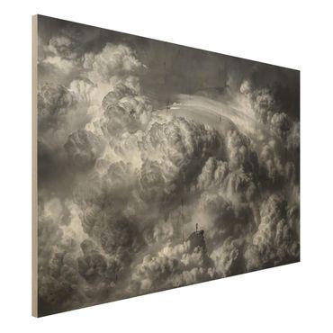 Quadro in legno - Una tempesta è in arrivo - Orizzontale 3:2