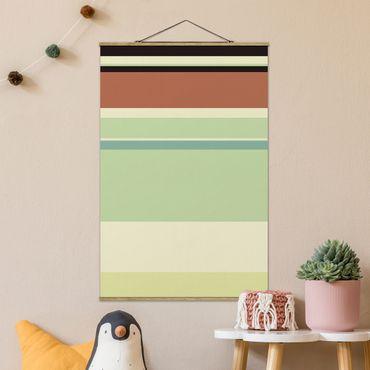Foto su tessuto da parete con bastone - Locandina cinematografica Principessa e il Ranocchio - Tiana - Verticale 3:2