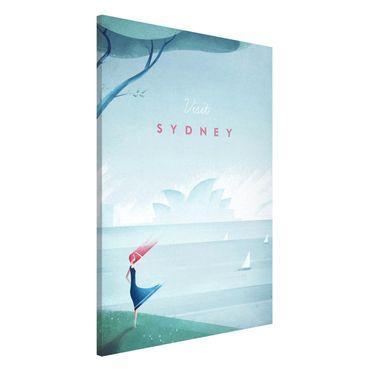 Lavagna magnetica - Poster Viaggi - Sidney - Formato verticale 2:3