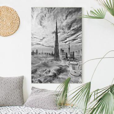 Stampa su tela - Dubai Super Skyline - Verticale 2:3