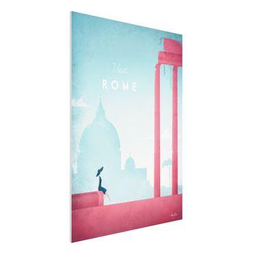 Stampa su Forex - Poster Travel - Rome - Verticale 4:3