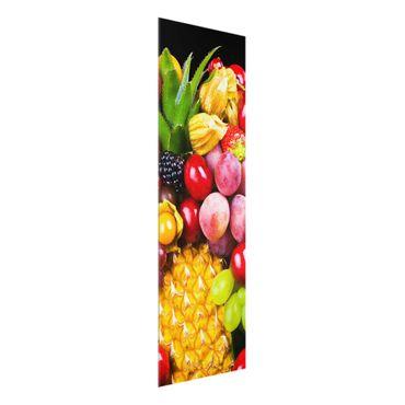 Quadro in vetro - Fruit bokeh - Pannello