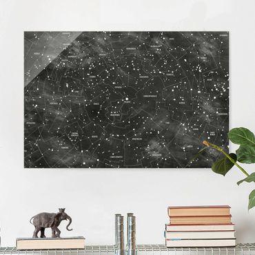 Quadro in vetro - Constellation map panel optics - Orizzontale 3:2