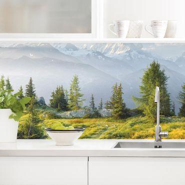 Rivestimento cucina - Emosson Wallis Svizzera