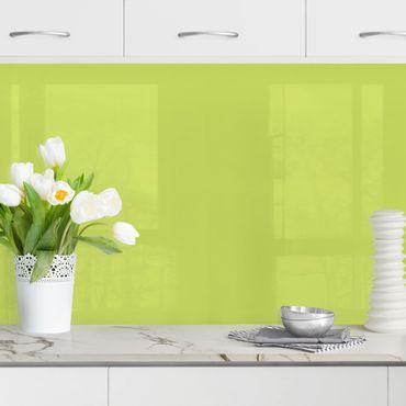 Rivestimento cucina - Verde primavera