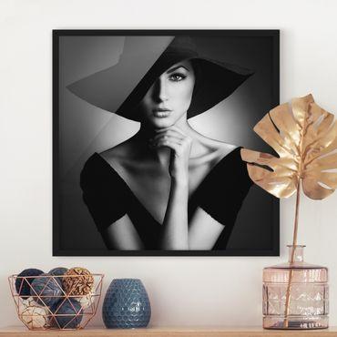 Poster con cornice - Like Audrey - Quadrato 1:1