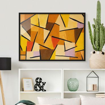 Poster con cornice - Paul Klee - Harmonized Fight - Orizzontale 3:4