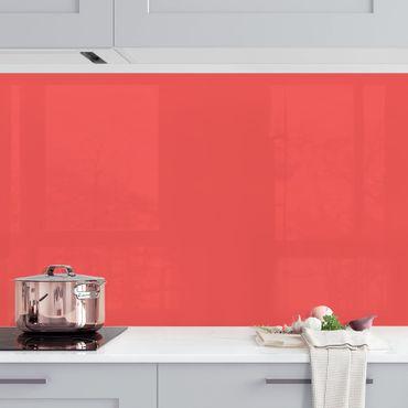 Rivestimento cucina - Color vermiglione inglese