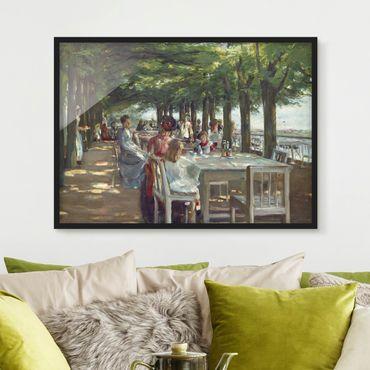 Poster con cornice - Max Liebermann - The Terrace Restaurant Jacob - Orizzontale 3:4
