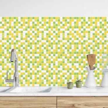 Rivestimento cucina - Mosaici set primavera