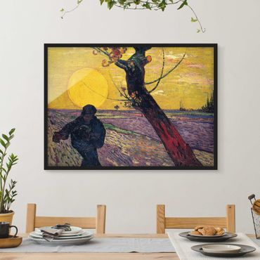 Poster con cornice - Vincent Van Gogh - Sower - Orizzontale 3:4