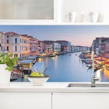Rivestimento cucina - Serata Sul Canal Grande A Venezia