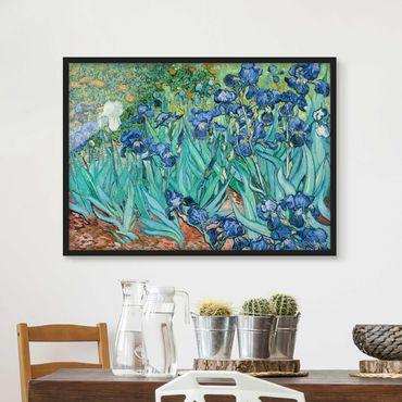 Poster con cornice - Vincent Van Gogh - Iris - Orizzontale 3:4