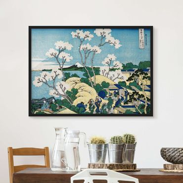 Poster con cornice - Katsushika Hokusai - The Fuji Of Gotenyama - Orizzontale 3:4