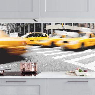 Rivestimento cucina - New York in velocità