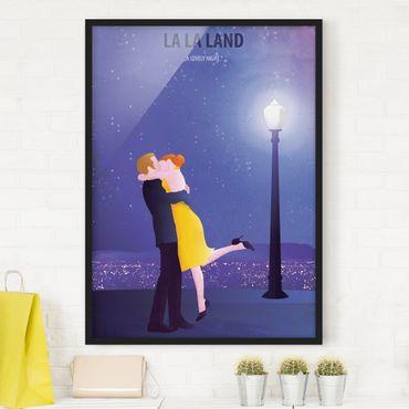 Poster con cornice - Locandina cinematografica La La Land II - Verticale 4:3