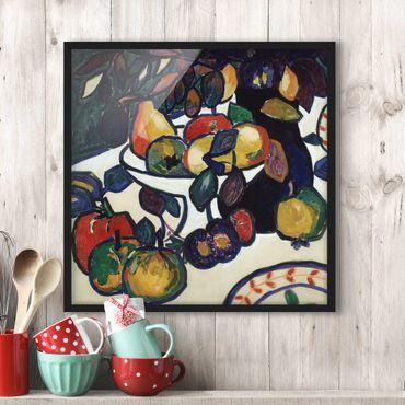 Poster con cornice - Kasimir Malevich - Still Life - Quadrato 1:1