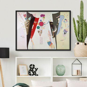 Poster con cornice - Wassily Kandinsky - The Mutual Harmony - Orizzontale 3:4