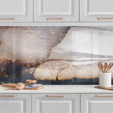 Rivestimenti cucina - Oro Marmo Painted