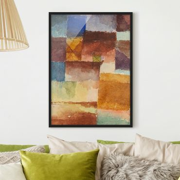 Poster con cornice - Paul Klee - In The Wasteland - Verticale 4:3