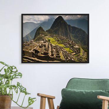 Poster con cornice - Machu Picchu - Orizzontale 3:4